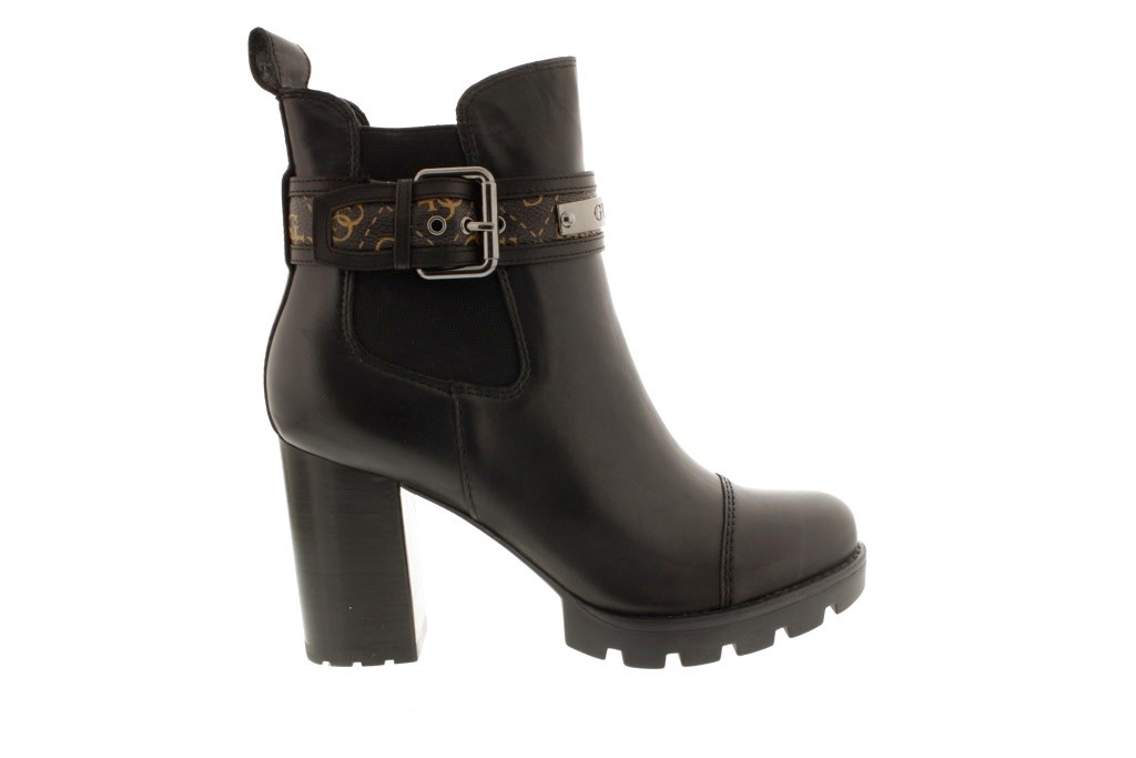 Ankle Boots Guess Black Fl8Raf Fal10 Free Delivery Guess Black Ankle Boots Shoes